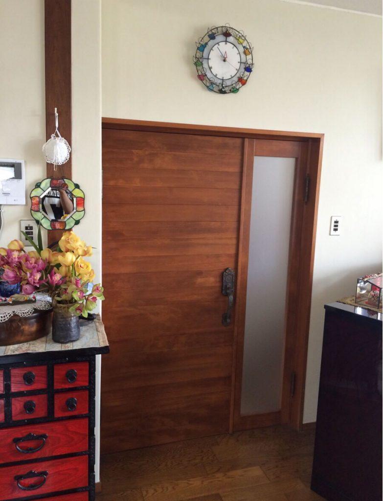 室内ドアの塗装 香川 高松